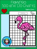 A+ Flamingo: Numbers 100 and 120 Chart