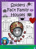 A+ Spiders: Fact Family Houses