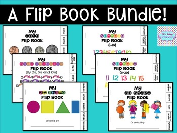 A Flip Book Math Bundle!