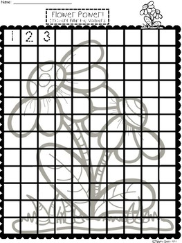 A+ Flower Power! Numbers 100 and 120 Chart