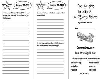 A Flying Start Trifold - Storytown 6th Grade Unit 1 Week 3