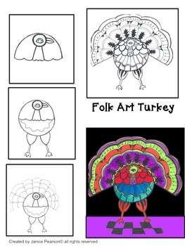 A Folk Art Turkey