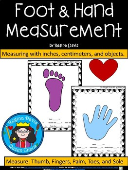 A+ Foot & Hand Measurement: Inches, Centimeters, or Your Own Measurement Choice