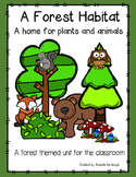 A Forest Habitat - A Home for Plants and Animals
