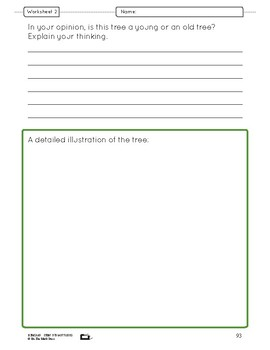 A Forest of Trees Lesson Plan Grade 6