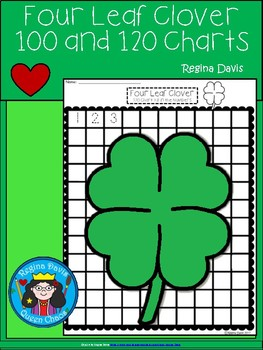 A+ Four Leaf Clover: Numbers 100 and 120 Chart