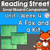 A Fox and A Kit SmartBoard Companion 1st First Grade