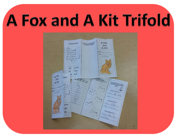 A Fox and A Kit Trifold