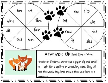 A Fox and Kit Games