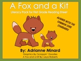 A Fox and a Kit Literacy Pack - First Grade Foresman Readi