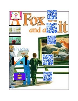 A Fox and a Kit with Q.R.Codes