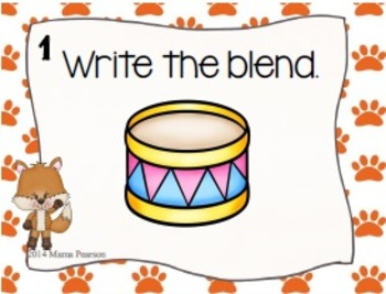 Foxy Blends Task Cards Set