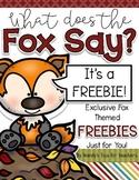 A Foxy Freebie