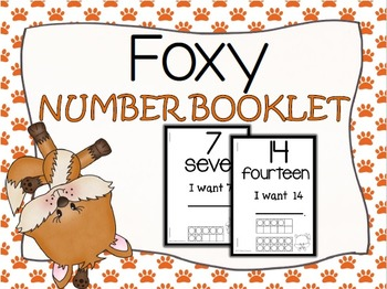 Foxy Number Booklet (1-20)