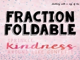 A Fraction Foldable: Multiplying & Dividing Fractions with
