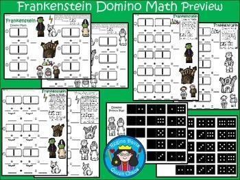 A+ Addition Frankenstein: Domino Math