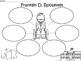 A+ Franklin D. Roosevelt... Three Graphic Organizers
