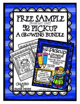 A Free Sample From 52 Pickup: A Complete Bundle of Languag