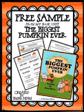 ⭐FREE ~ A Free Sample From The Biggest Pumpkin Ever Book Unit