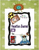 A Free Vacation Journal Cover and Directions