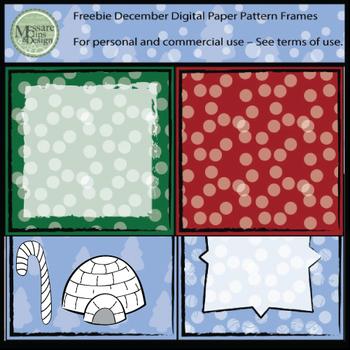 A December Freebie Clipart Pack {Messare Clips and Design}