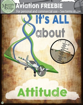 A Freebie: IT'S ALL ABOUT ATTITUDE Poster {Messare Clips and Design}
