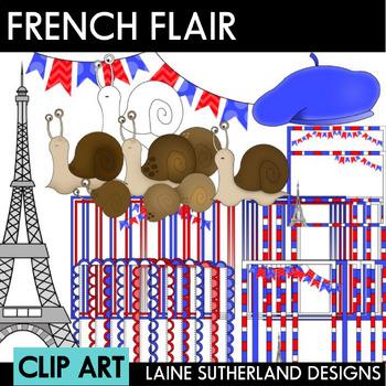 A French Affair Clip Art Set
