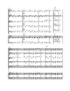 A French Folk Life - Sheet Music for String Orchestra
