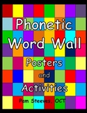 A French Phonetic Word Wall - Frequent Words Colour Coded by Sound Posters