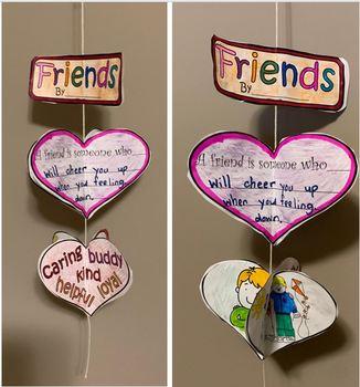A Friend Is.... - A Friendship Mobile