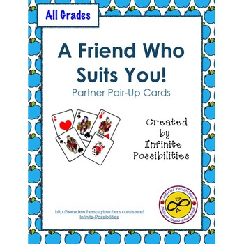 A Friend Who Suits You - Partner-Up Cards