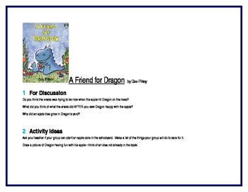 A Friend for Dragon for Guided Reading Groups