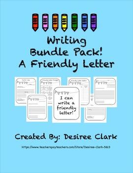 A Friendly Letter Bundle Pack
