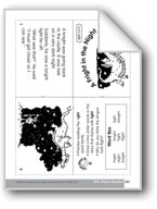 A Fright in the Night (Little Phonics Readers)