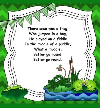 A Frog In The Bog - A Round for Practicing Stepwise Motion (PDF Edition)