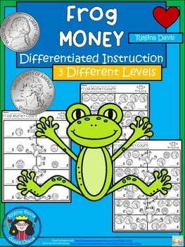 A+ Frog Money Math: Differentiated  Practice