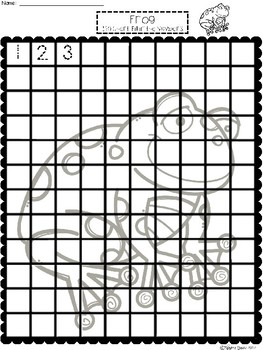 A+ Frog: Numbers 100 and 120 Chart