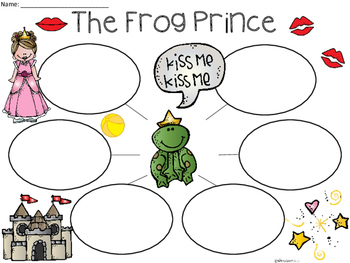 A+ Frog Prince... Three Graphic Organizers