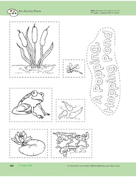 A Frog's Life: Art and Cooking Activities