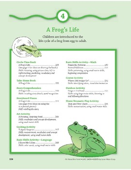 A Frog's Life: Center Activity
