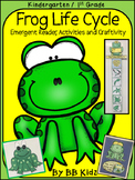 A Frog's Life Cycle  {Activities, Emergent Reader and Craf
