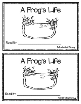 A Frog's Life Emergent Reader (Frog Life Cycle)