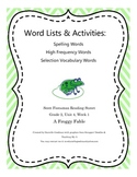 A Froggy Fable Grade 2 Reading Street Common Core 2013