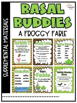 A Froggy Fable -Reading Street (2013) 2nd Grade Unit 4 Week 1