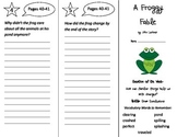 A Froggy Fable Trifold - Reading Street 2nd Grade Unit 4 Week 1