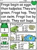 A+ Frogs... Comprehension: Differentiated Instruction For Guided Reading