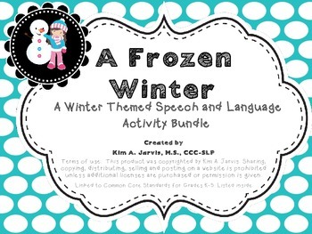 A Frozen Winter: Speech and Language Activity Bundle