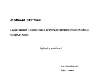 Teaching Quarter Notes and Eighth Notes! A Visual, Syllabi