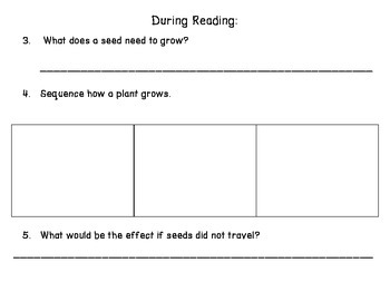 A Fruit is a Suitcase for Seeds - Guided Reading for Growing Readers