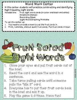 A Fruit is a Suitcase for Seeds- Resources for Treasures First Grade